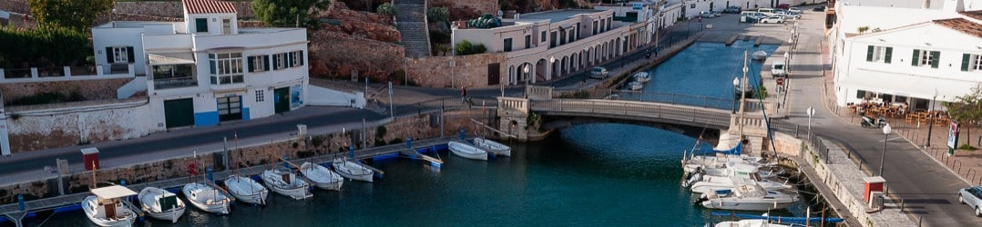 Cuitadella harbour - a place to linger on spring and summer days