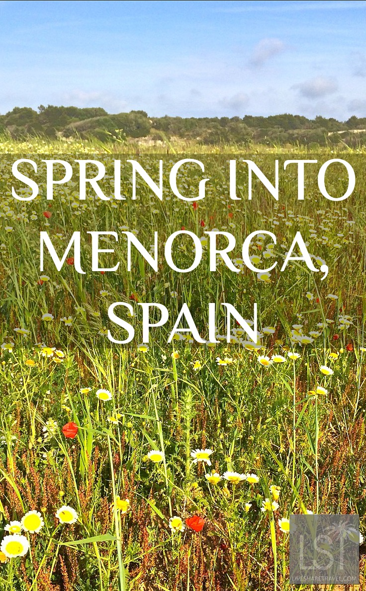 Sping in Menorca, Spain