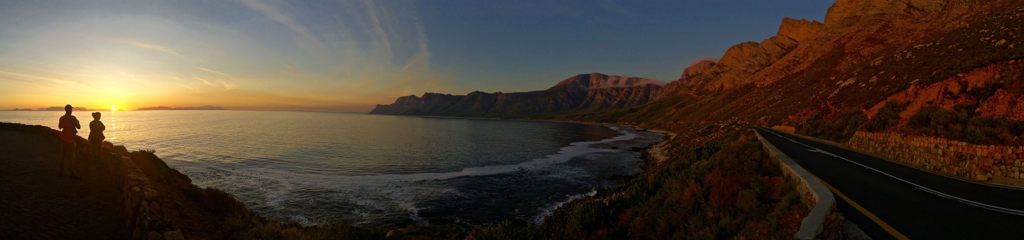 Sunset at Boland Mountain along one of the best road trips in the world