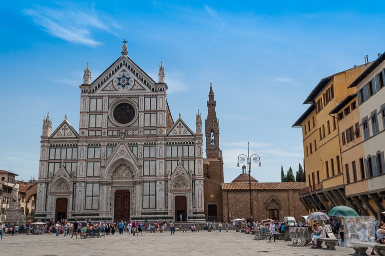 Church of the Holy Cross in Florence, Tuscany