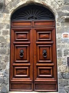 Door in San Gimignano