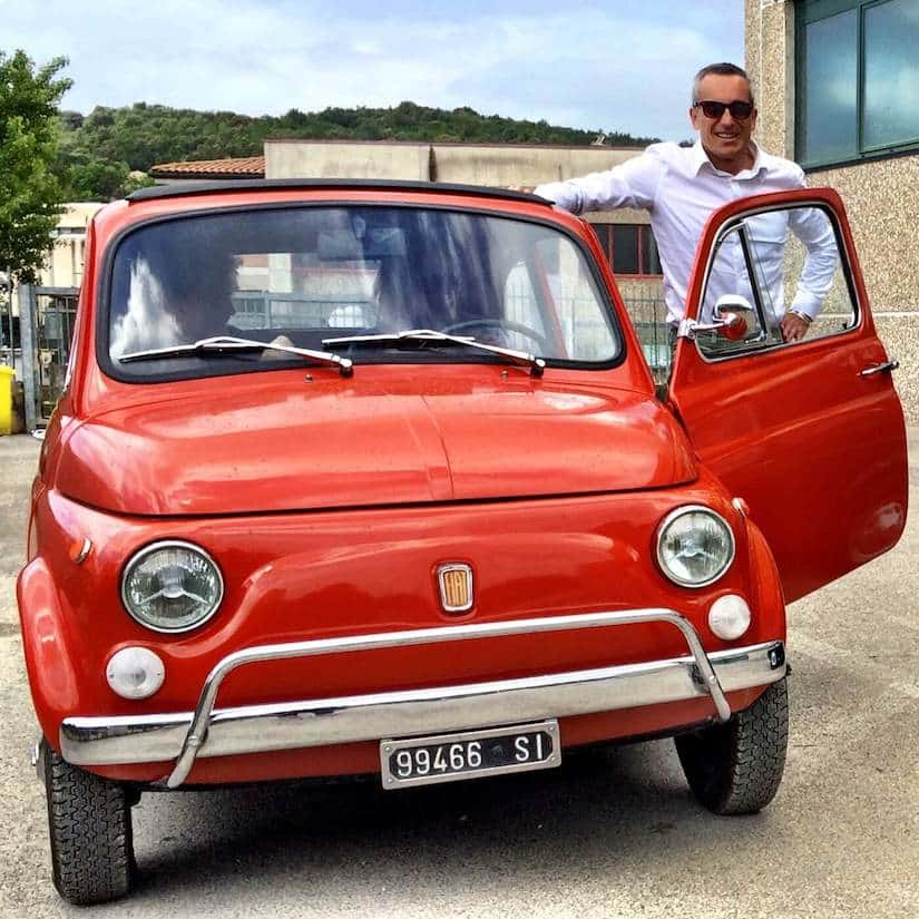 Take a Fiat 500 wine tour in Tuscany