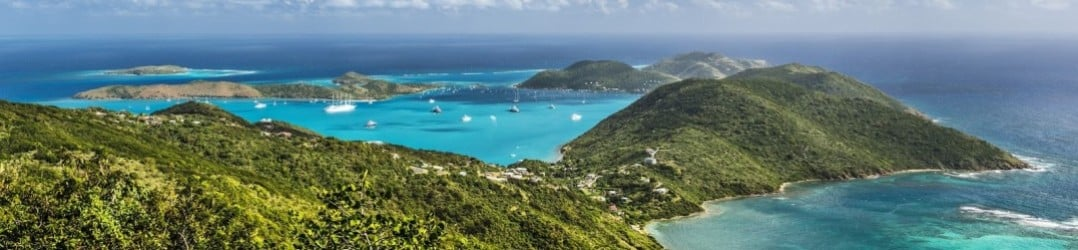 Virgin Gorda island, Little Dix Bay