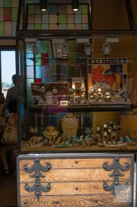 Jewellery shop on the Ponte Vecchio, Florence. A must visit place in Tuscany
