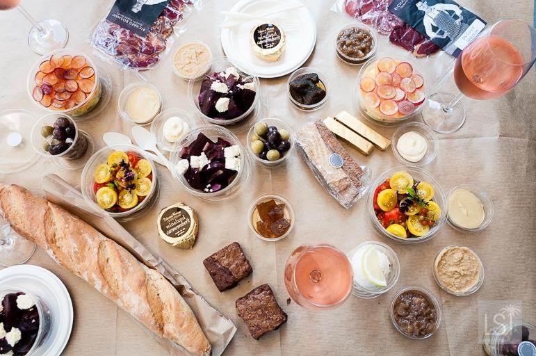 Picnic lunch at Spier Wine Estate, Stellenbosch, South Africa