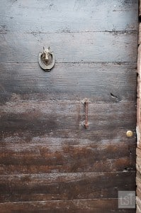 Stable door in the horsey town of Siena, Tuscany
