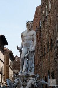 Statue of Neptune in Piazza della Signoria, Florence
