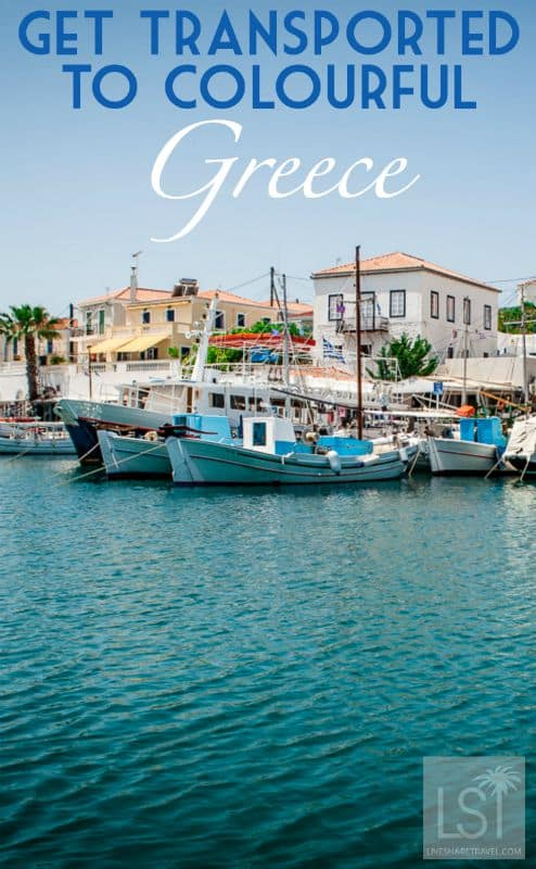 Get transported to colourful Greece on Spetses Island