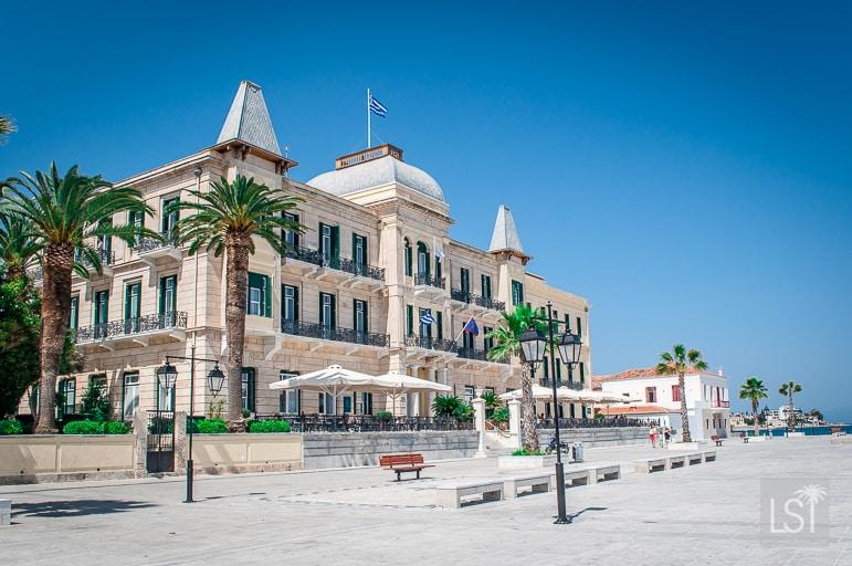Poseidonion Grand Hotel in Spetses Greece