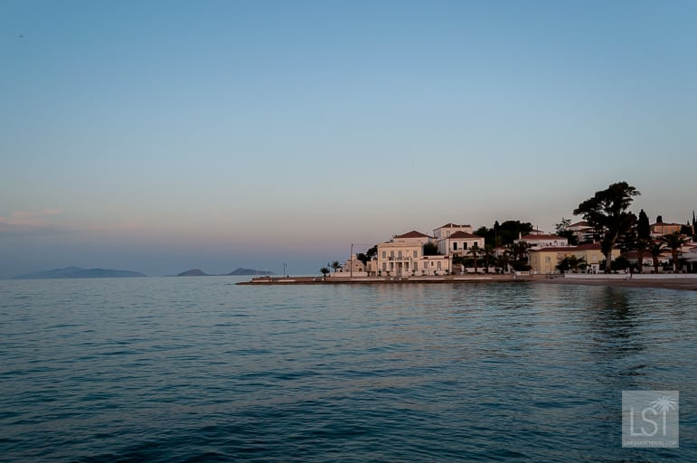 Sunset in Spetses Greece