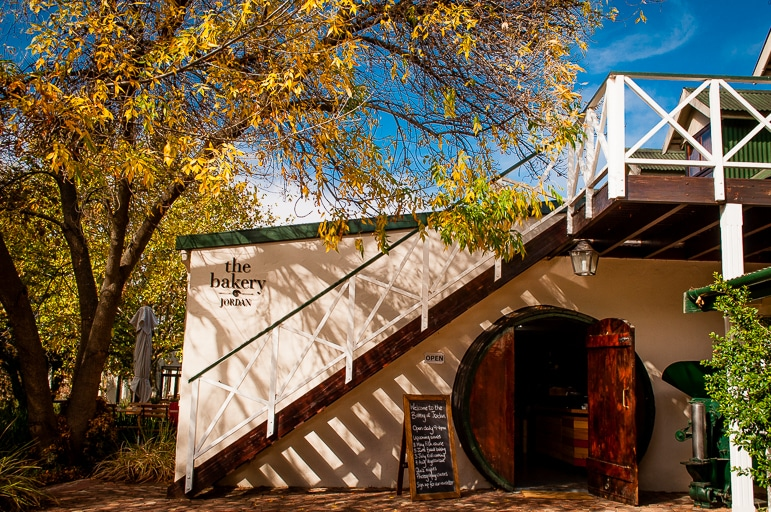Tales of Stellenbosch wineries - back at The Bakery at Jordan Wine Estate for a tasting