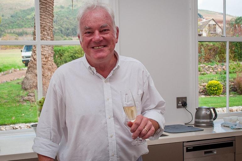 Tales of Stellenbosch wineries - winemaker Ken Forrester