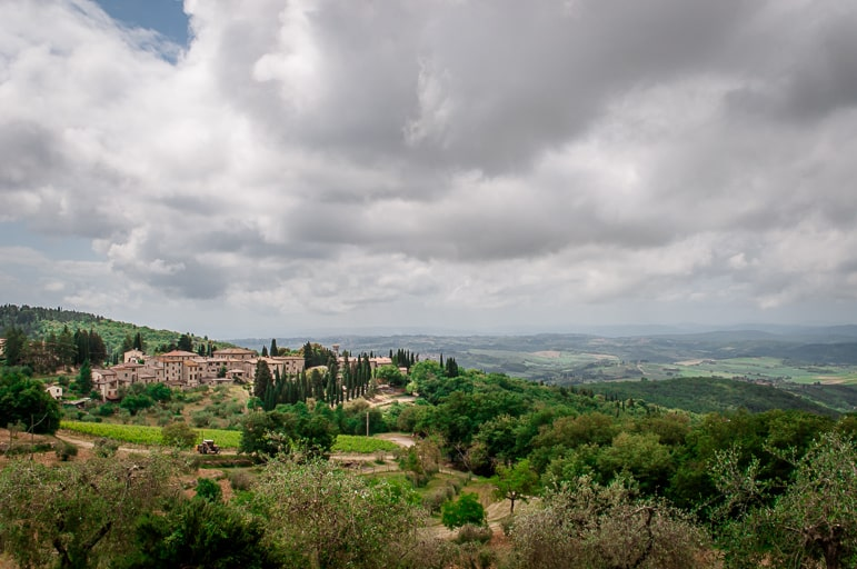 Castellina in Chianti gives us a taste of Tuscany