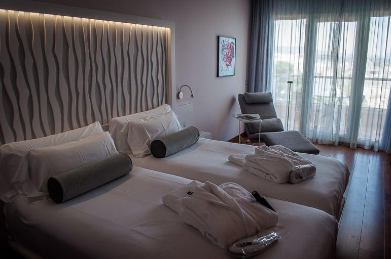 Bedroom at Amàre Marbella Beach Hotel