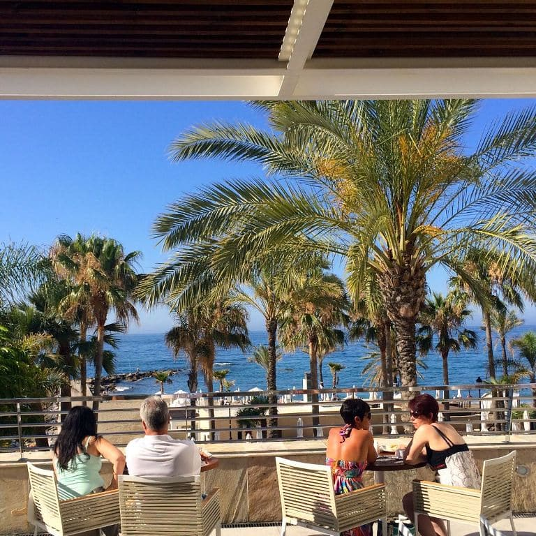 breakfast at amre marbella beach hotel