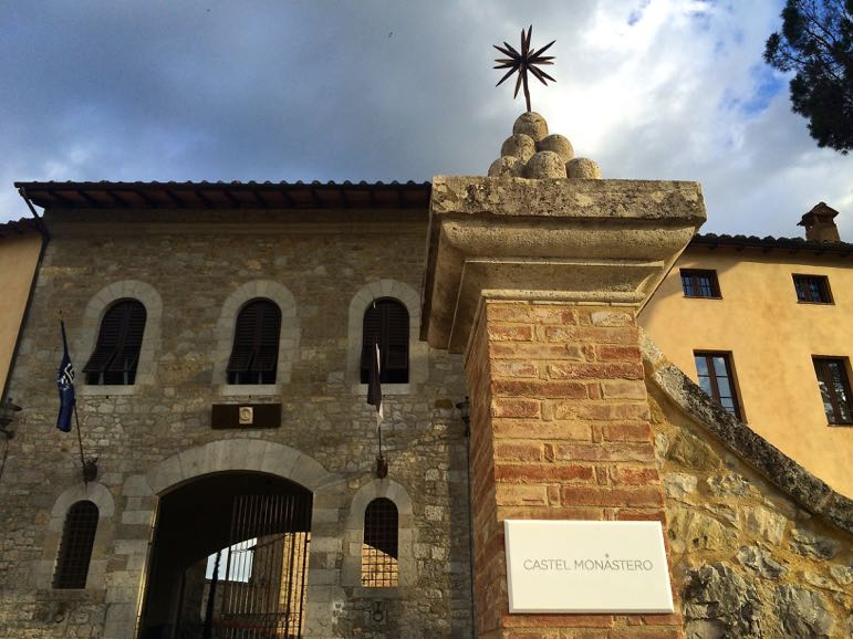 Castel Monastero in the Citalia holidays Tuscany collection