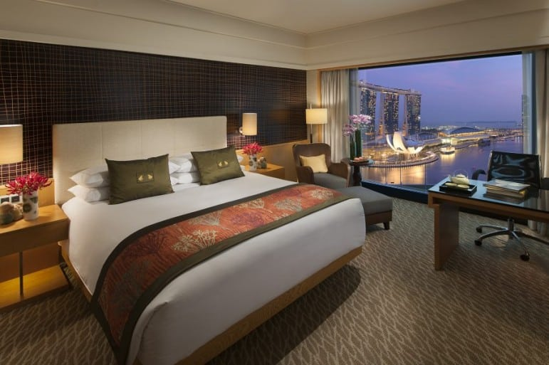 Mandarin Oriental - one of many great places to stay in Singapore