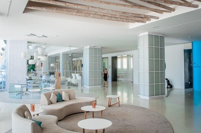 Spacious modern pubic areas at Amàre Marbella Beach Hotel
