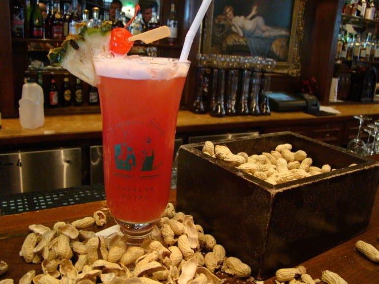 The iconic Singapore Sling at Raffles Long Bar | pic: Vasenka Photography