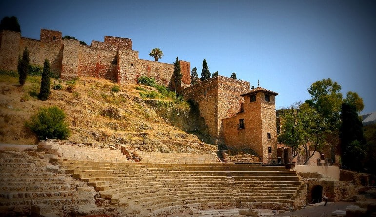Places to go in Andalucia - the Alcazaba in Málaga