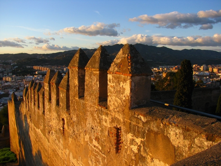 Castillo de Gibralfaro on of the best places to go in Andalucia