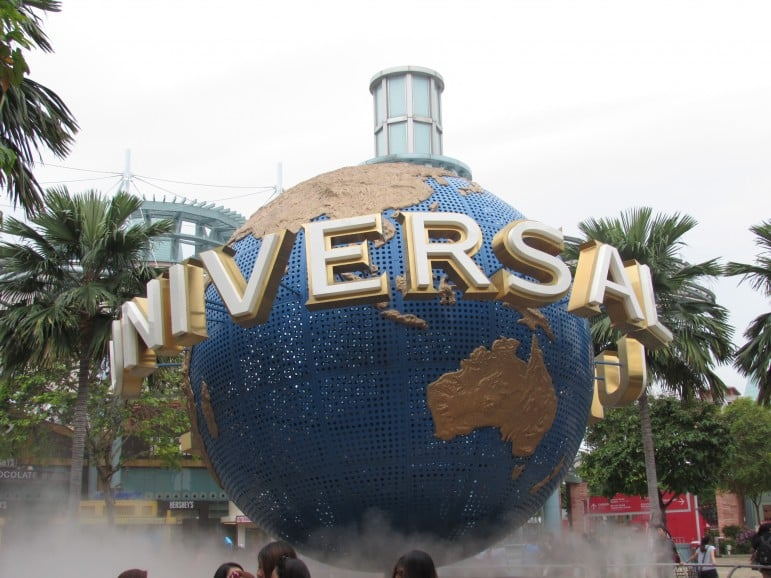 Places to go in Singapore - Universal Studios, one of the best places to go in Singapore for family fun | pic: Lisa Robinson