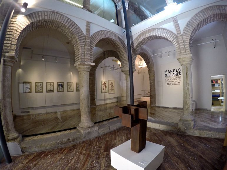 Places to go in Andlaucia - Spanish Contemporary Engraving Museum in the 16th century Hospital Bazán, Marbella