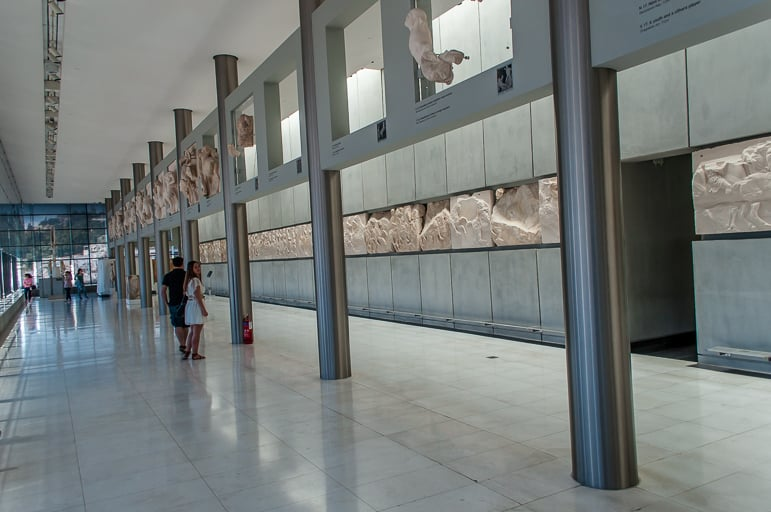The perfect Parthenon replica at Athens' Acropolis Museum