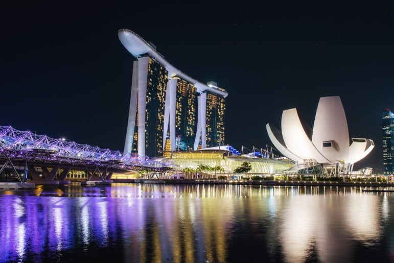 There are so many great places to go in Singapore, I instantly fell in love with Marina Bay | pic: Leonid Yaitskiy