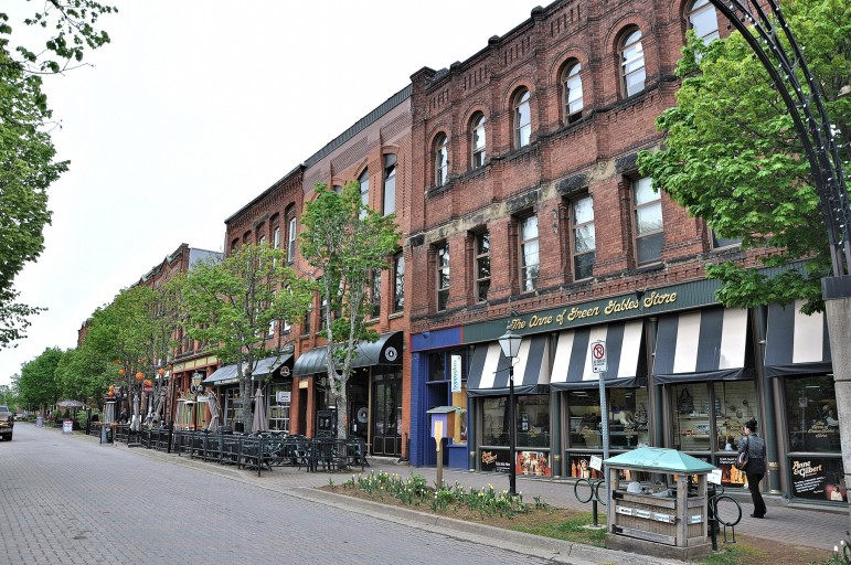 Victoria Row, Charlottetown - a must-visit on your holiday to Prince Edward Island I Pic: Robert Cutts