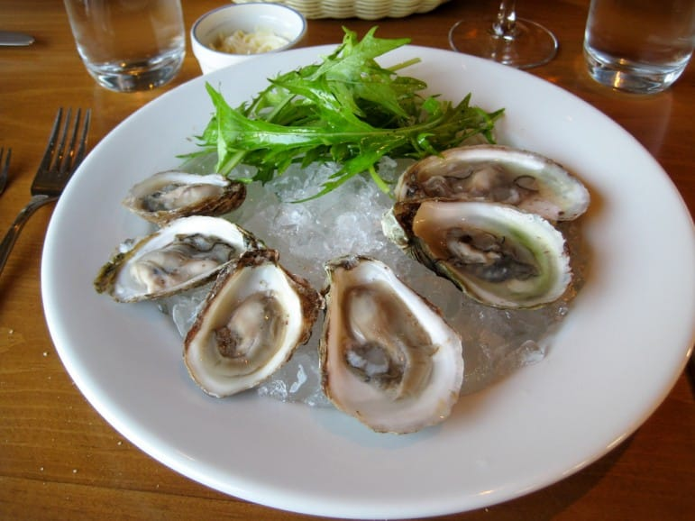 Prince Edward Island is famed for its shellfish including oysters I Pic: Tim Sackton