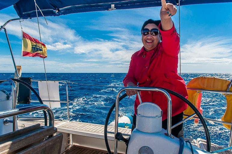 Land ahoy! Sailing in Menorca