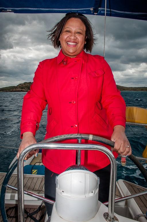 Sailing in Menorca - still in control
