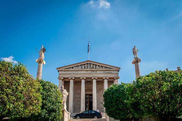 The Academy of Arts in Athens