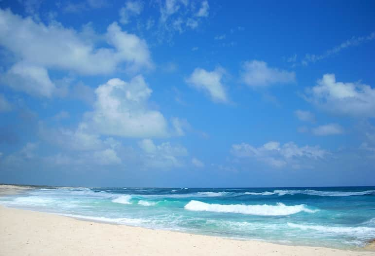 Beach in Cozumel, Mexico, one of the destinations on a Norwegian Escape Western Caribbean itinerary