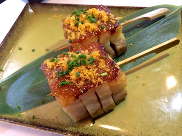 Belly pork at Food Republic, Norwegian Escape