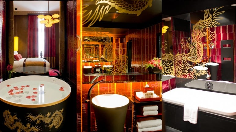 Where to stay in Paris - The Buddha Bar Hotel Paris, one of many luxury places to stays in Paris