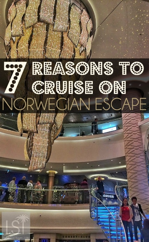 Cruising on Norwegian Cruise Lines' latest ship Norwegian Escape