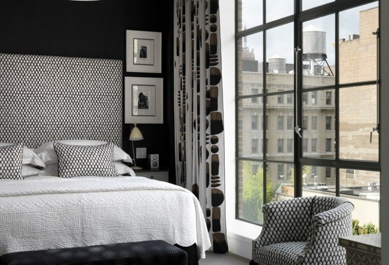 Where to stay in New York - each room is individually styled at the Crosby Street Hotel in New York I Pic Firmdale Hotels