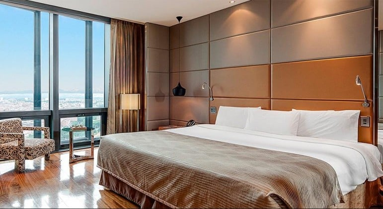 Where to stay in Madrid: Eurostars Madrid Tower Hotel