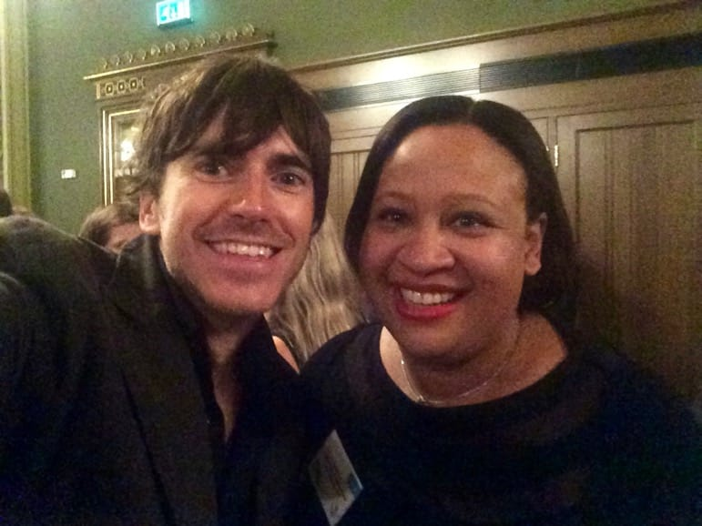 With fellow Travel Media Awards winner, TV explorer, Simon Reeve