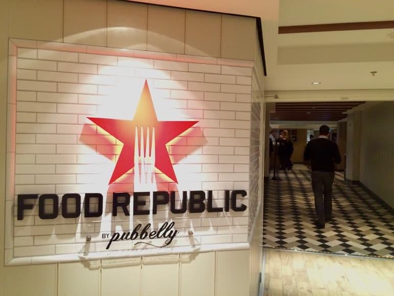 Food Republic on Norwegian Escape