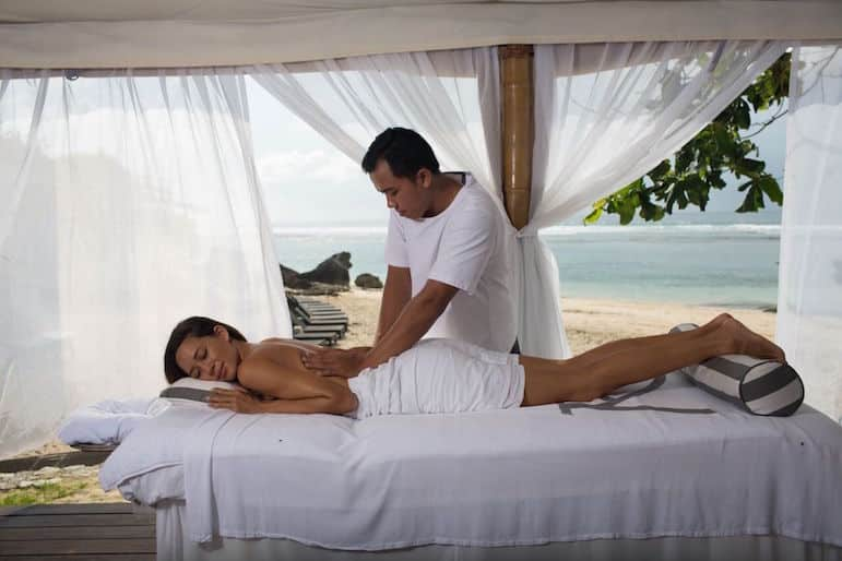 Karma Royal Resorts Spa massage