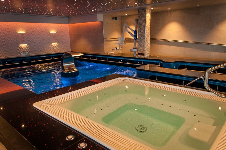 Spa on Norwegian Escape
