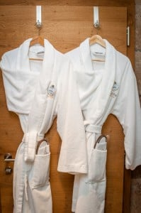Spa time bathrobes