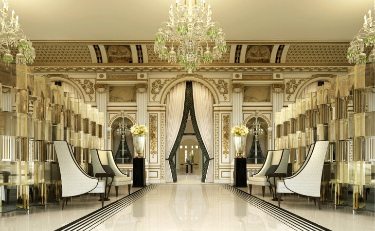Where to stay in Paris - the Peninsula Paris debuts the very best in French design, a luxury place to stay in Paris