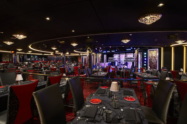 The glitz of the Supper Club, Norwegian Escape