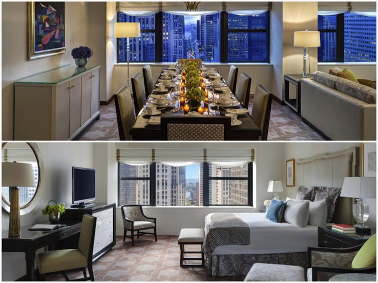 Where to stay in New York - deluxe suite at Lotte New York Palace | Pics: Lot