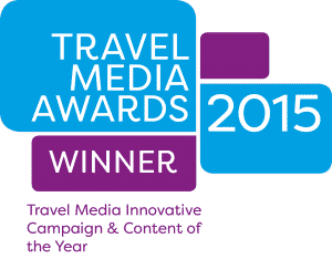 Winners of the Innovative Campaign & Content Travel Media Award 2015
