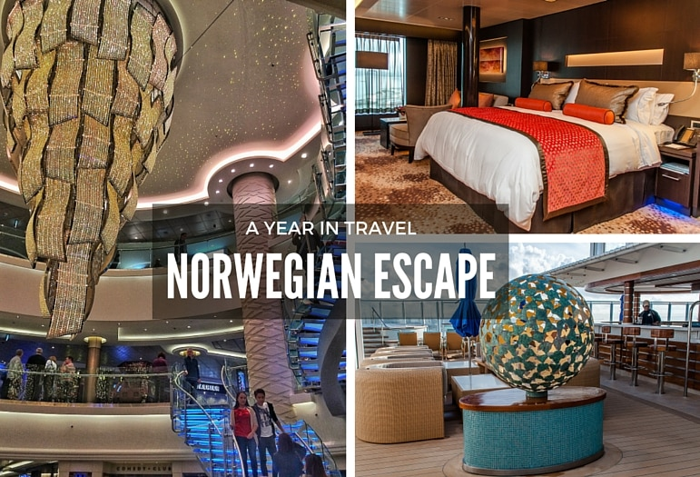 The best places to travel to - cruising on Norwegian Escape is an unforgettable adventure